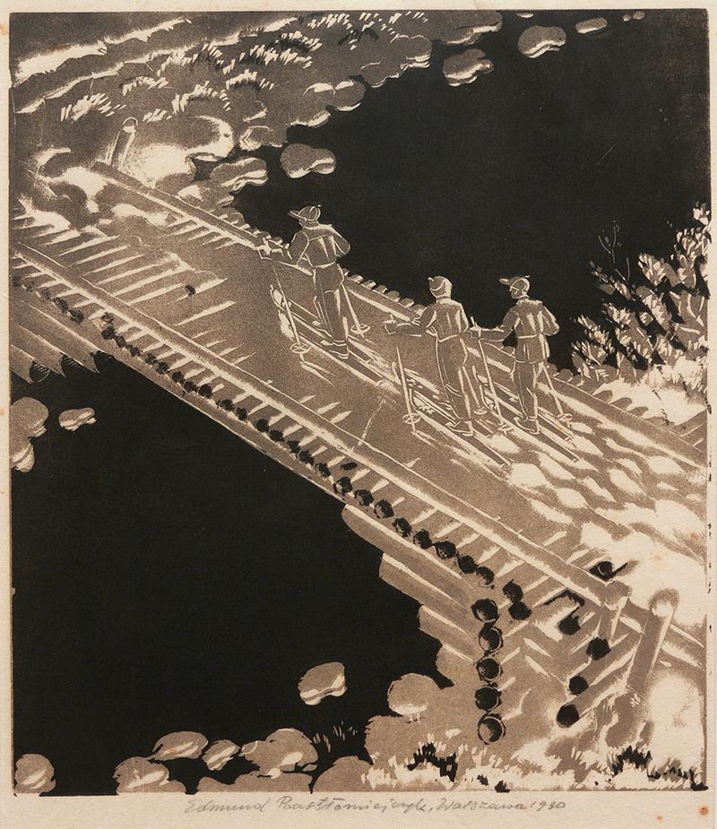Narciarze, 1930 r.