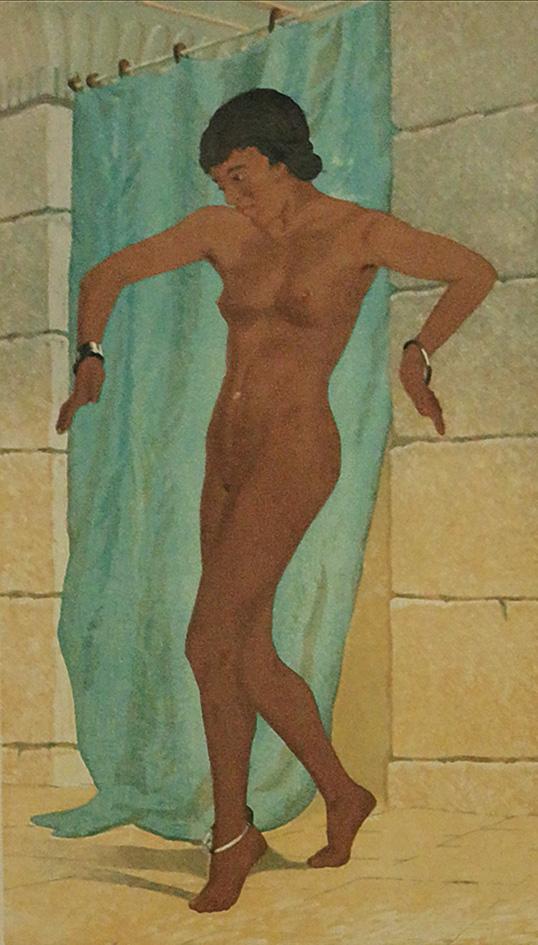 Taniec brzucha, 1935