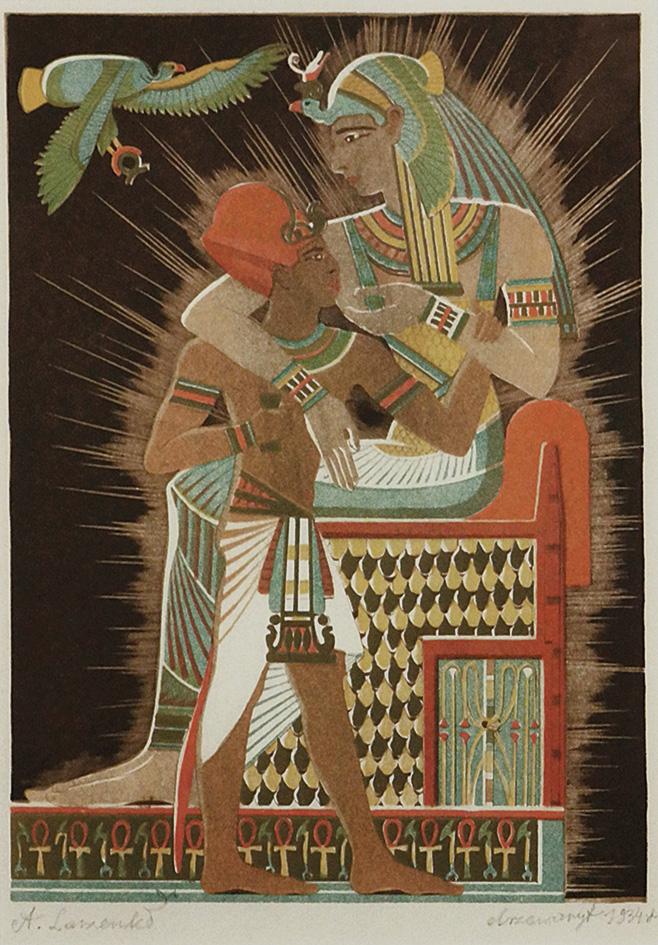 Izyda i Horus, 1934