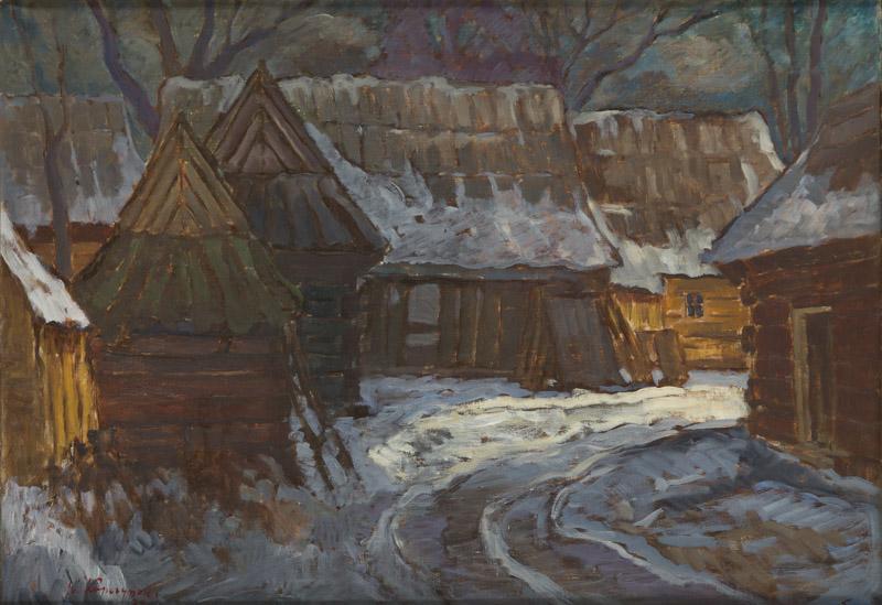 Chochołów, 1975 r.