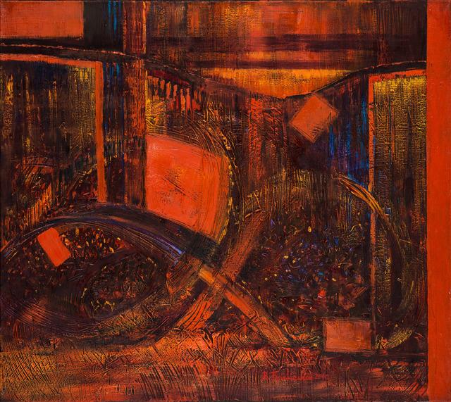 """Z cyklu """"Chaos – czerwień"""", 2010"""