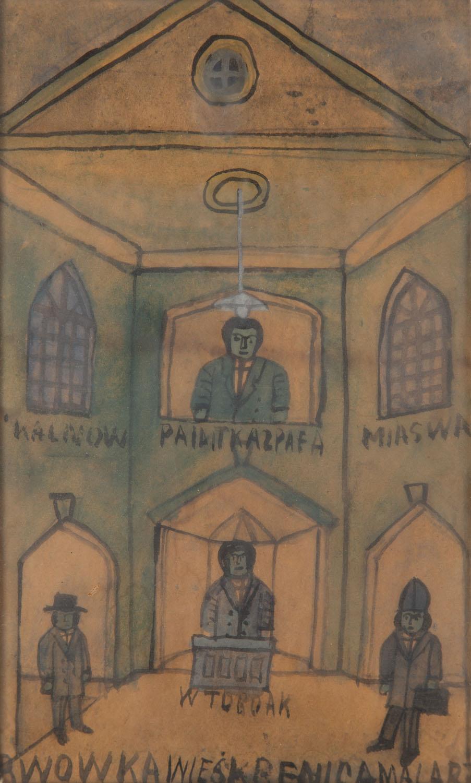Scena w kościele