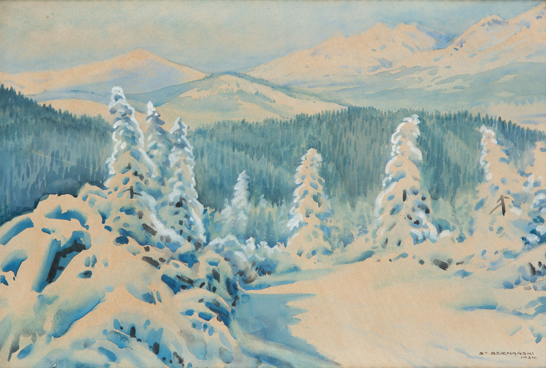 Tatry zimą, 1934