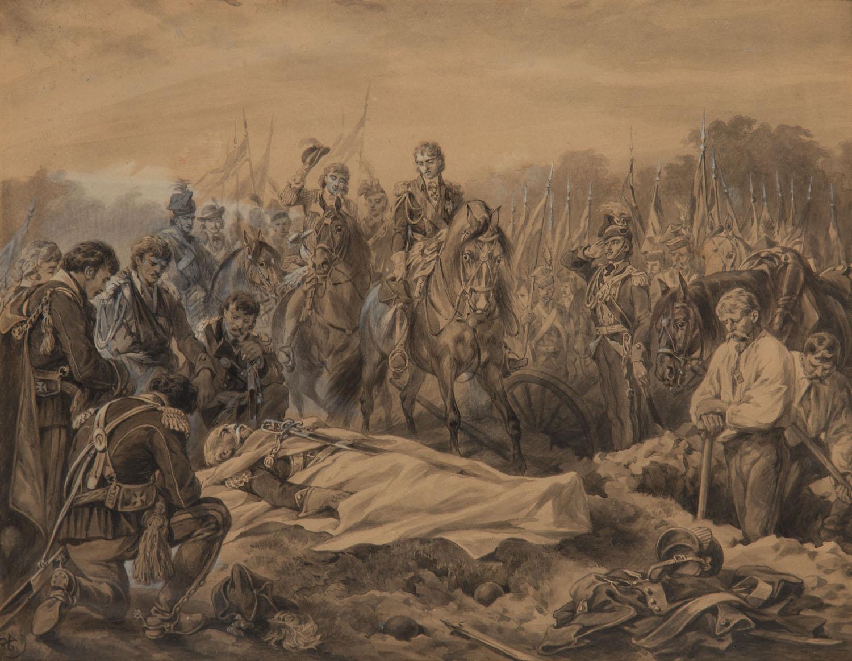 """""""Legł w boju jak rycerz Mohort"""", przed 1875"""