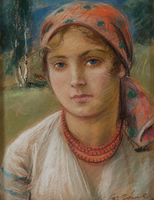 Portret dziewczyny w chuście