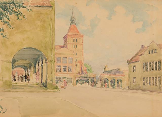 Miasto na Dolnym Śląsku
