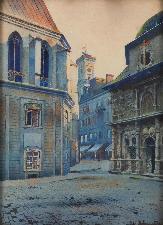 Widok z Lwowa (Kaplica Boimów)