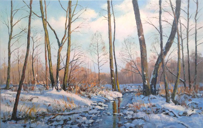 Zima ze strumykiem, 2018 r.