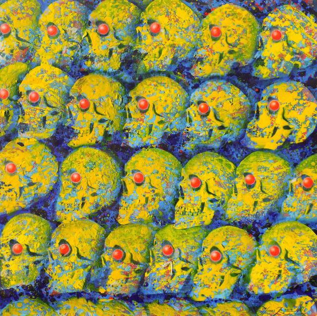 Żółto-niebieskie czaszki, 2016-2017