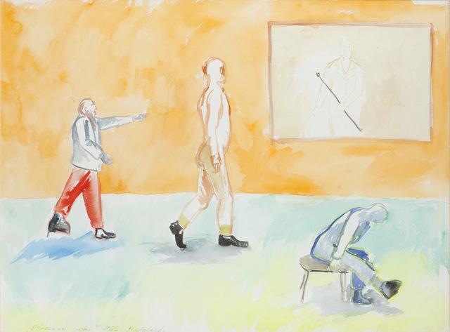 """""""Pilnowanie wystawy"""", 1986/1987"""