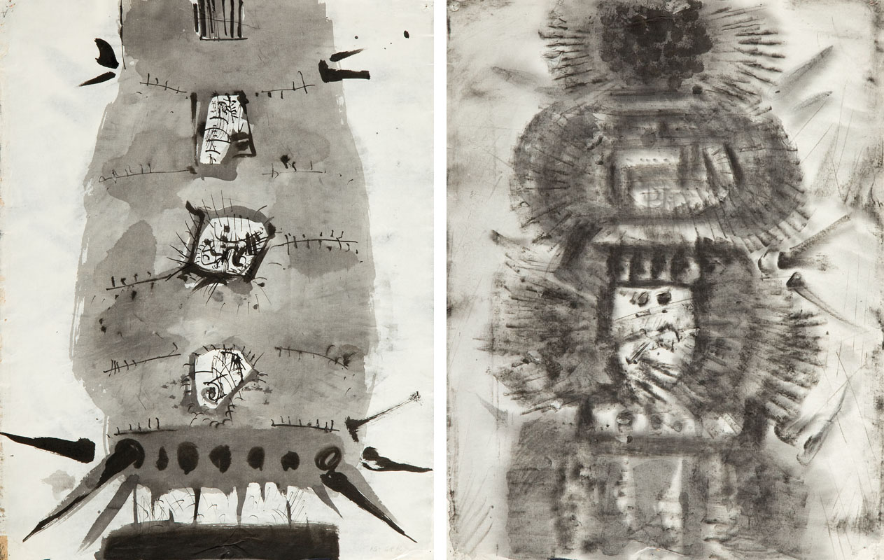 Bez tytułu (praca dwustronna), 1968