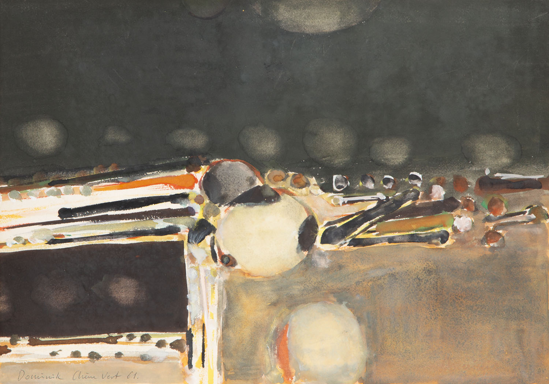 """Chim Vert"", 1961"