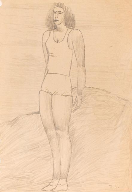 Gimnastyczka, 50s