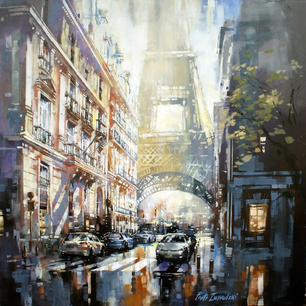 Rue de l'Universite z cyklu Metropolis, 2020