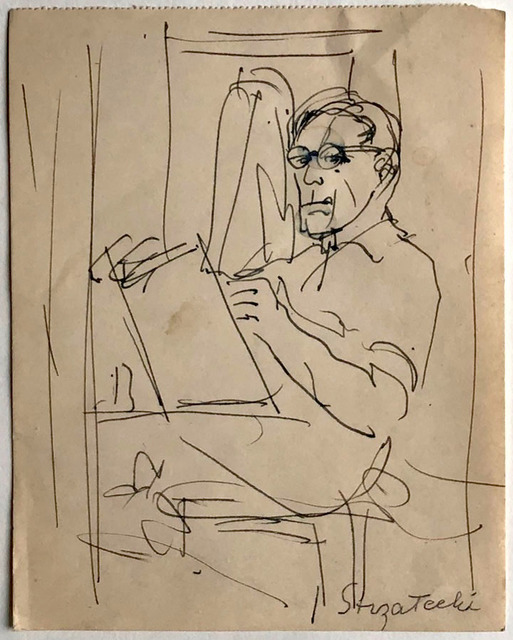 Autoportret, ok 1950 r.