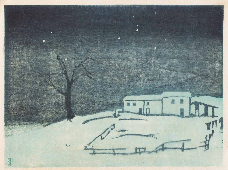 Pejzaż zimowy, około1909