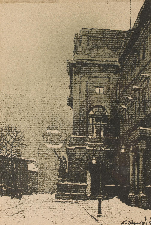 Sejm, z teki Lwów, 1915