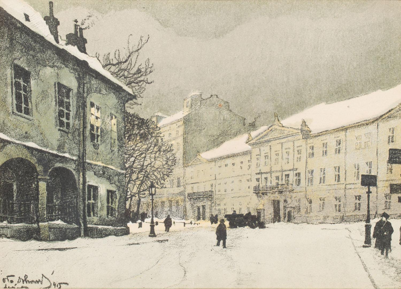 Namiestnictwo, z teki Lwów, 1915