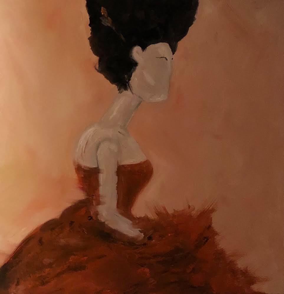 Kobieta bez twarzy