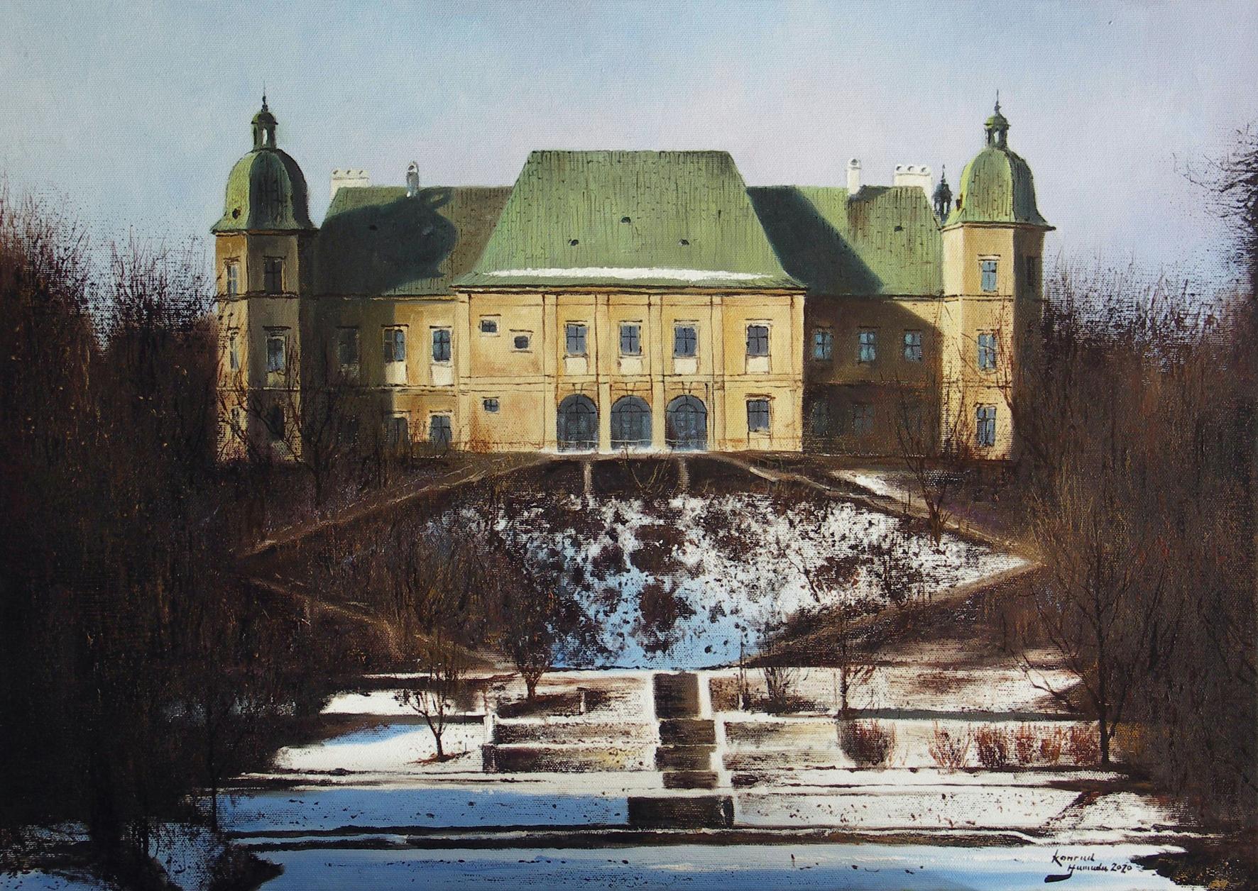 Zamek Ujazdowski w marcu, 2020