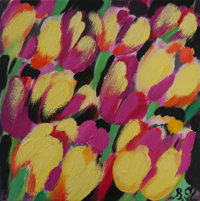 Słoneczne tulipany, 2019