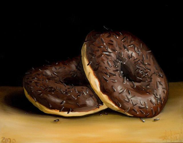 Donuts z posypką, 2020
