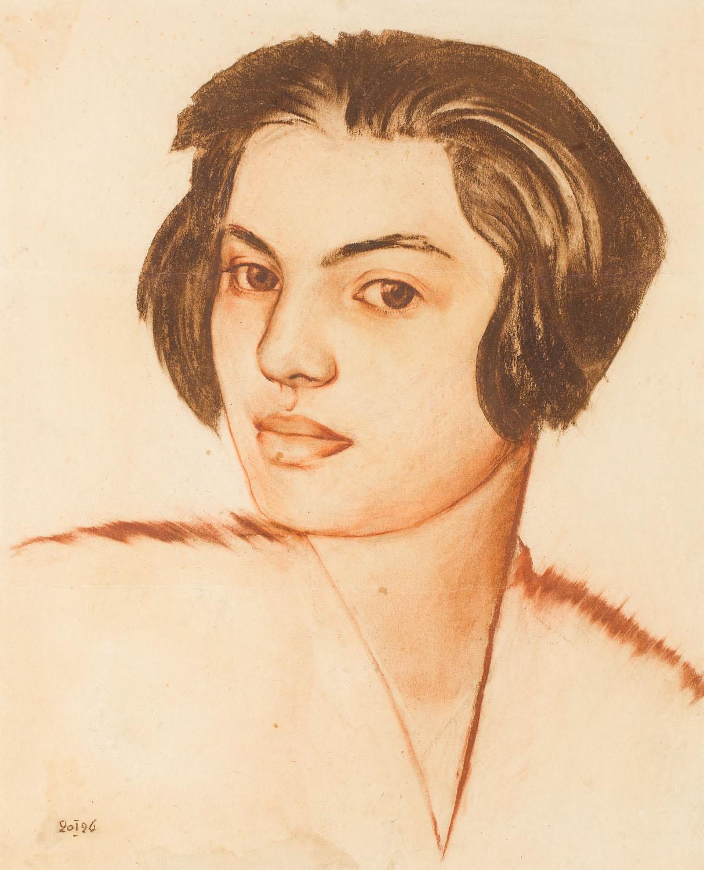 Portret młodej dziewczyny, 1926