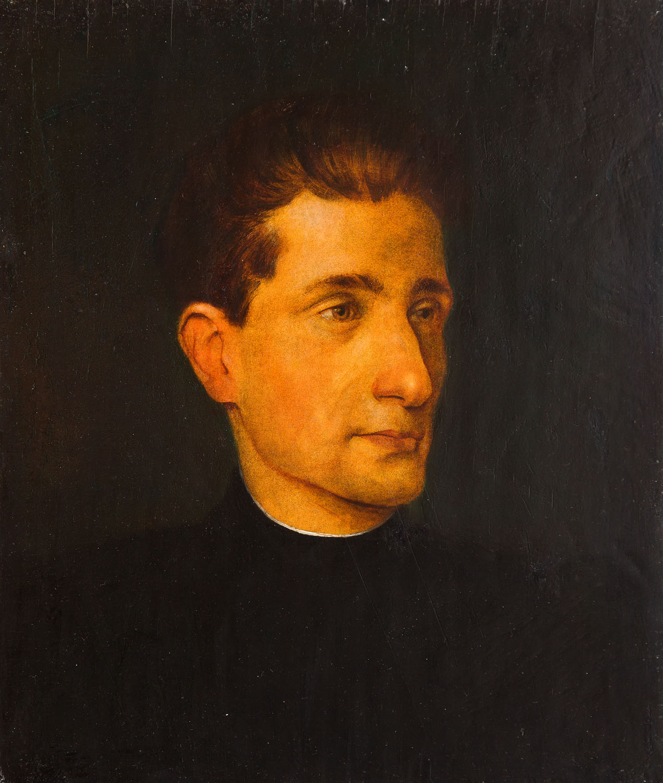 Portret młodego mężczyzny na ciemnym tle, 1926