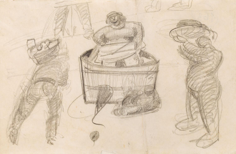 W balii, około 1935-1937