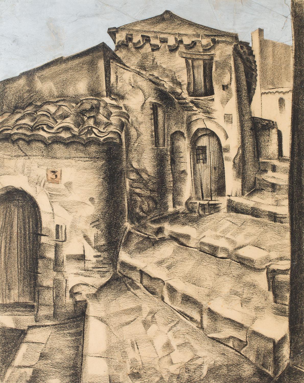 Schody w Castel Molo, 1930