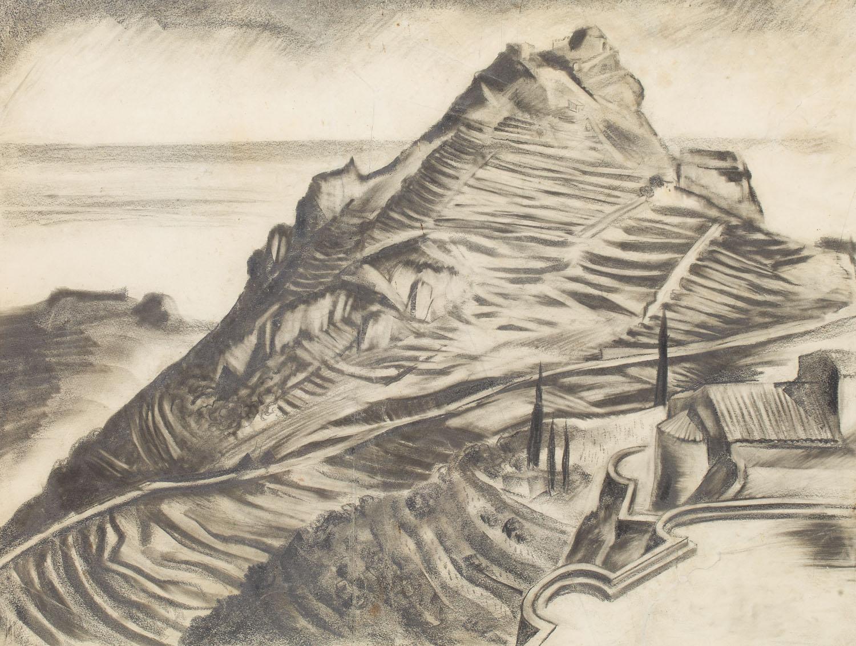 Pejzaż włoski, 1930