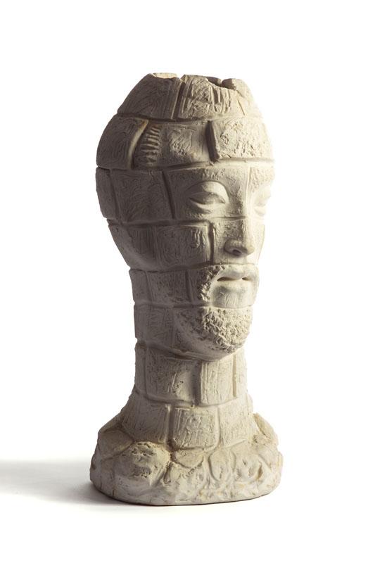 Głowa - prototyp wazonu, około 1960