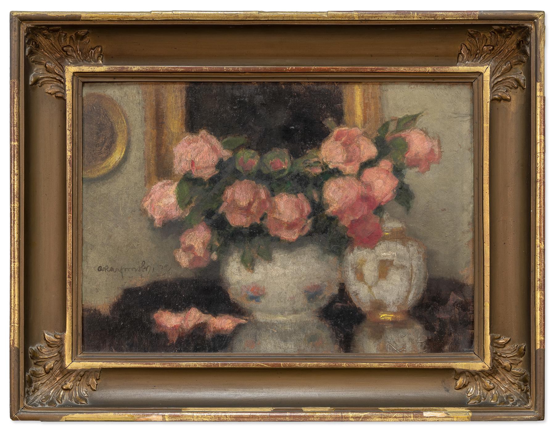 Róże w wazonie, lata 20. XX w.