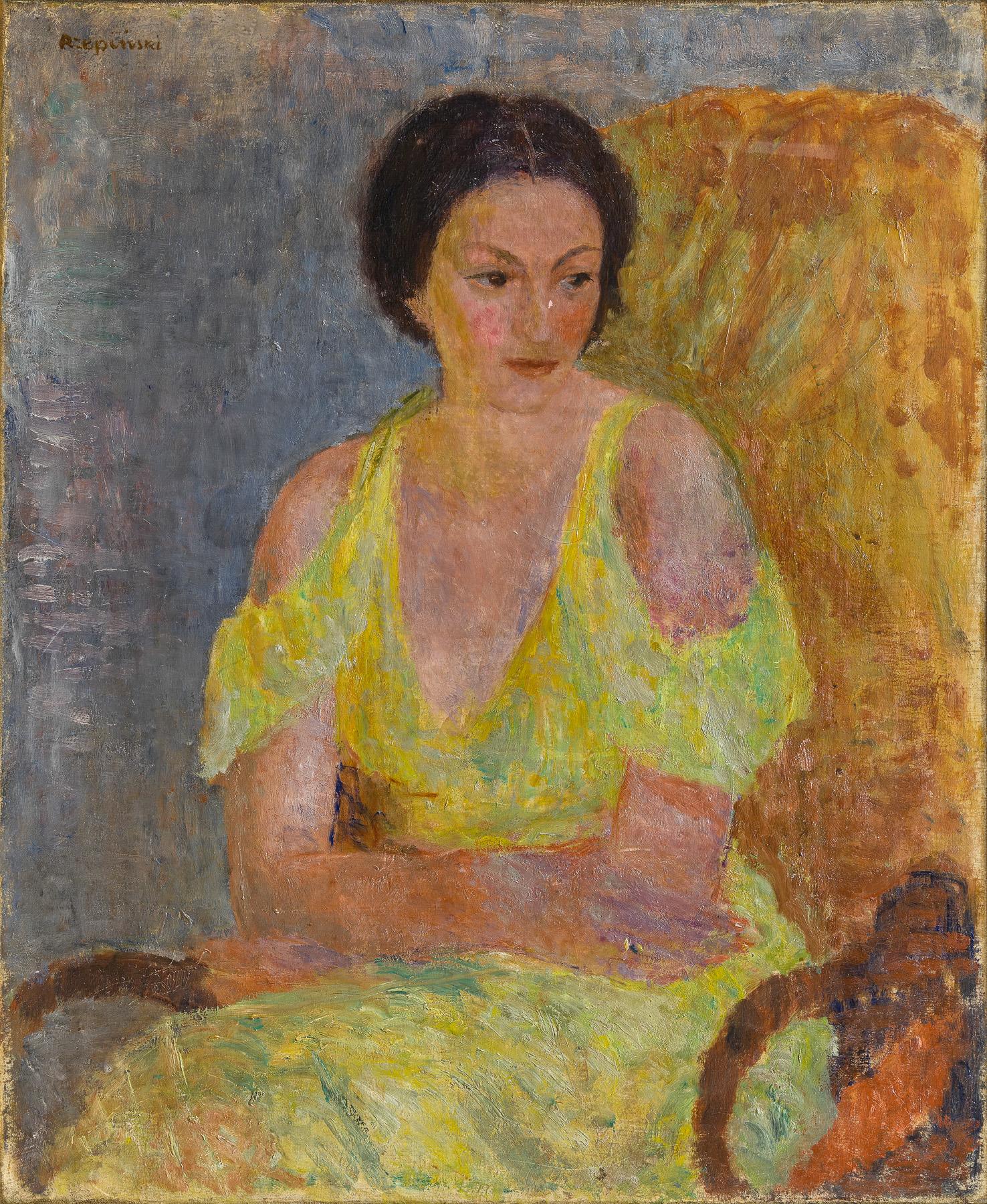 Portret kobiety, lata 50-te XX w.