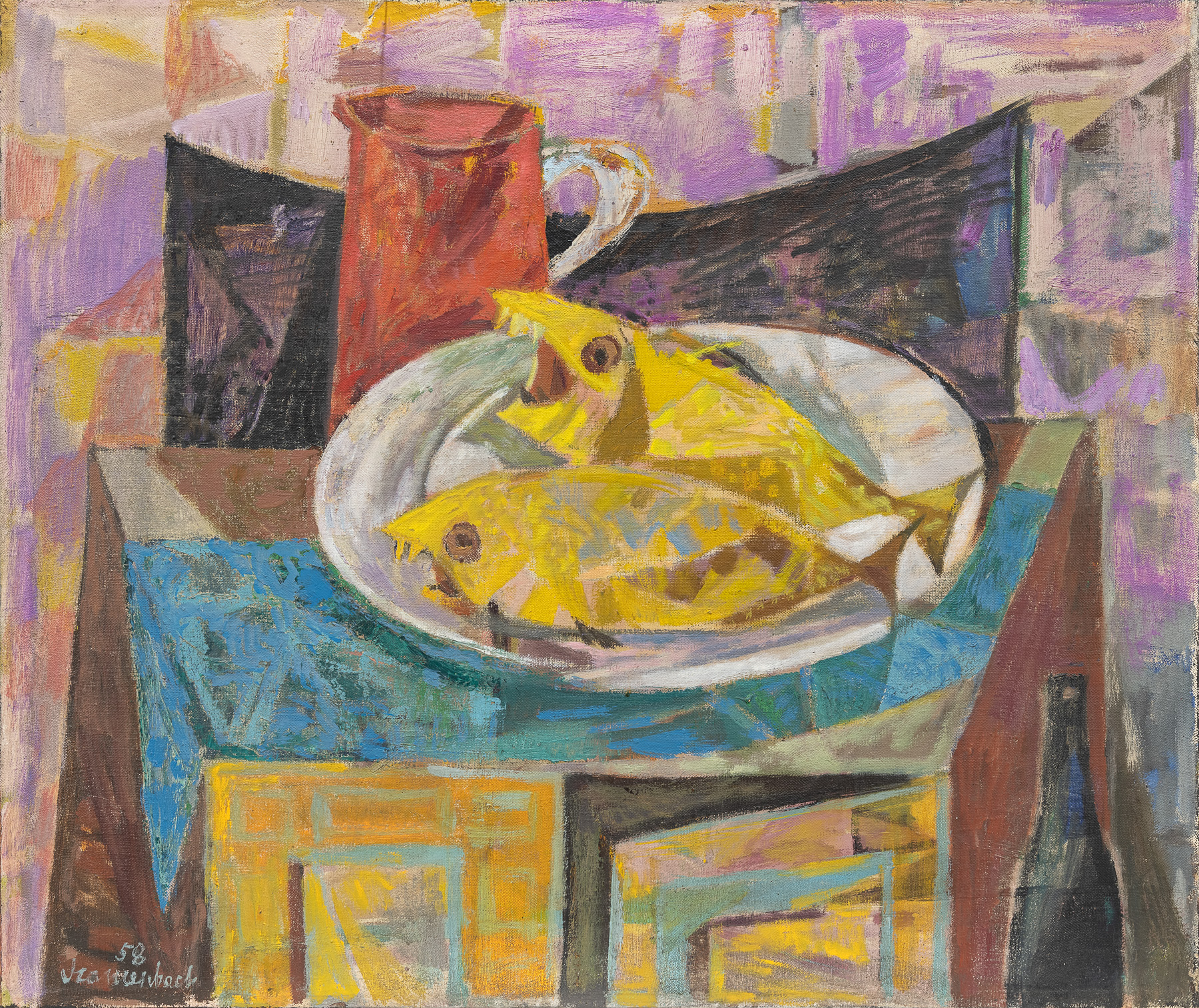 Krzyczące ryby, 1958