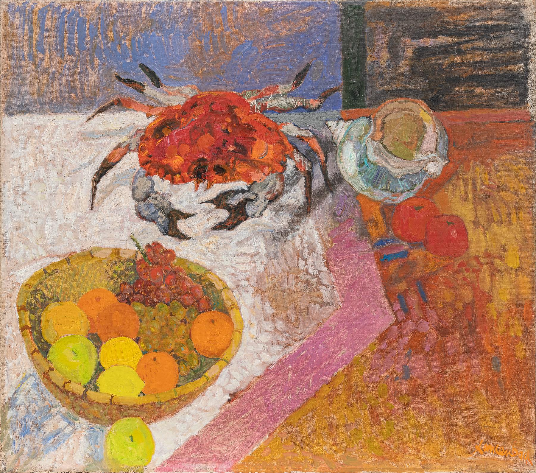 Krab i owoce, 1992