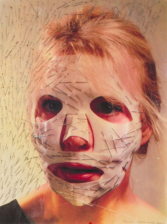 """Visage epingle"" 3, 2003"