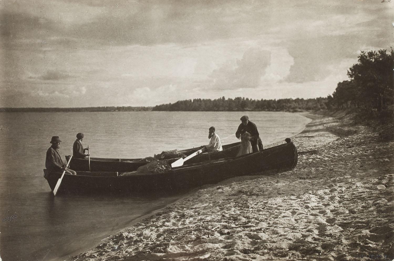 """Rybacy nad Jez. Narocz"", 1934"