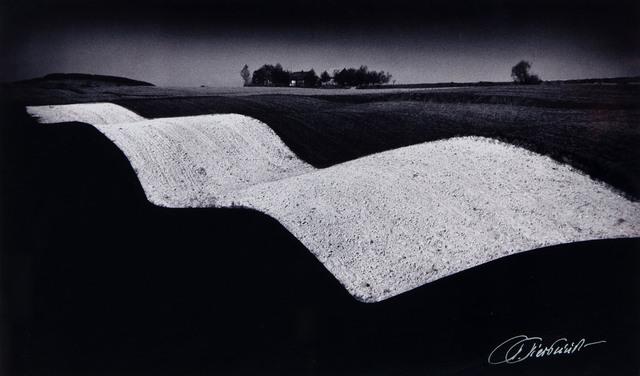 Krajobraz falisty, z cyklu: Portret Ziemi Kieleckiej, 1958/2006