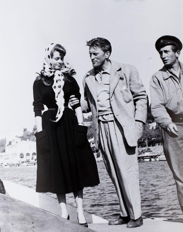Kirk Douglas, Brigitte Bardot