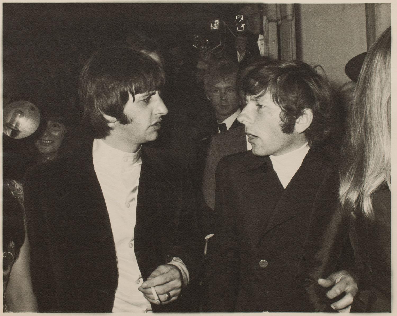 Ringo Star i Roman Polański, 1968