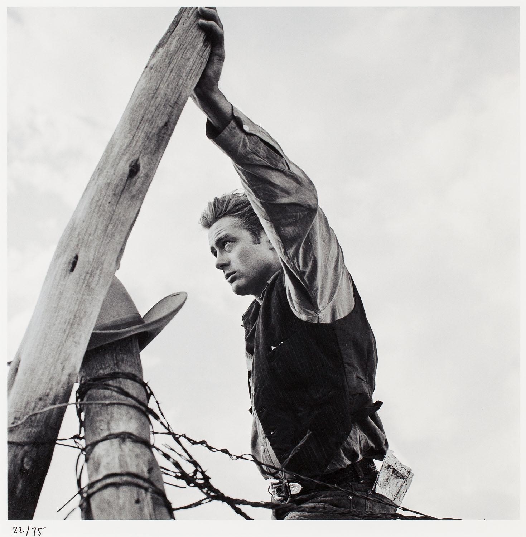 James Dean na planie filmu 'Giant' reż. George Stevens, 1955/2017