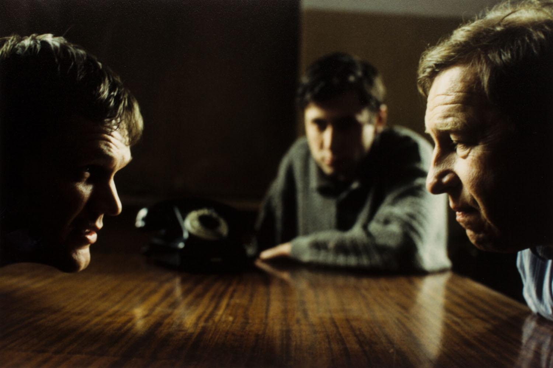 """Cezary Pazura i Jerzy Stuhr na planie filmu """"Killer"""", reż. Juliusz Machulski, 1997/2019"""