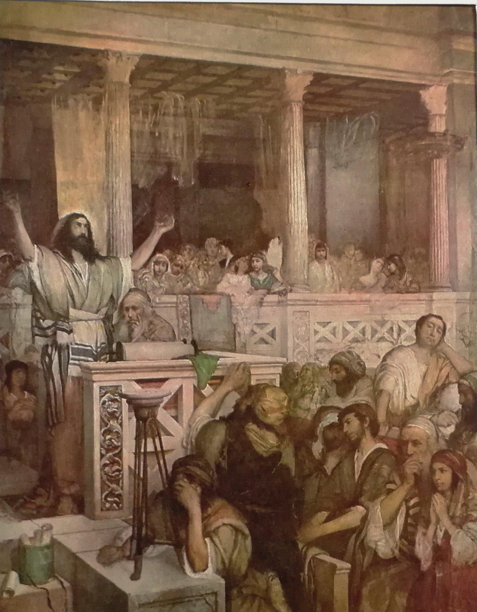 Chrystus w świątyni