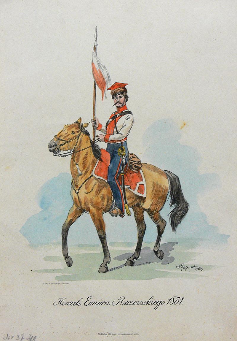 Kozak Emira Rzewuskiego 1831, 1936 r.