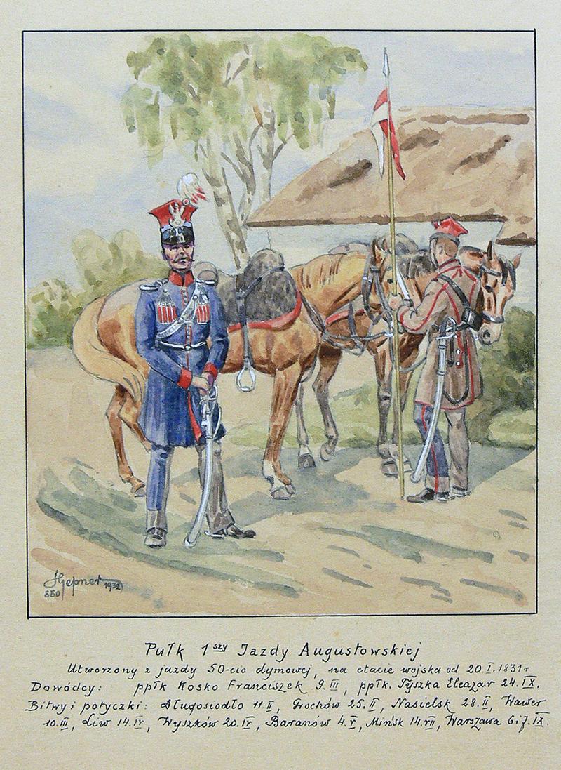 Pułk 1 Jazdy Augustowskiej, 1932 r.