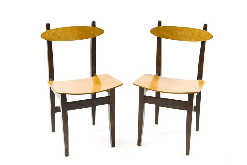 Para krzeseł (prototypy funkcjonalne), lata 60. XX w.