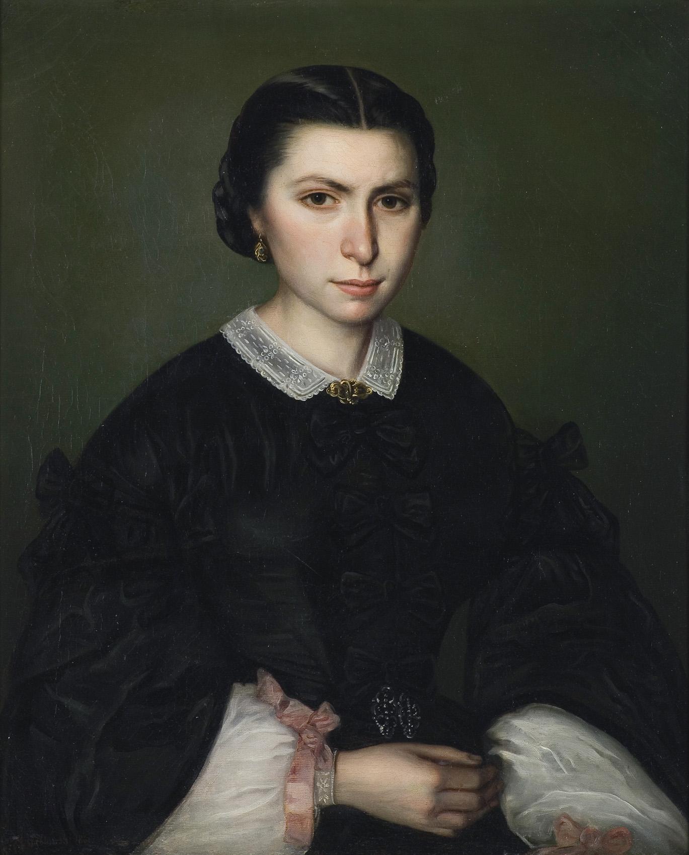 PORTRET DAMY, 1861