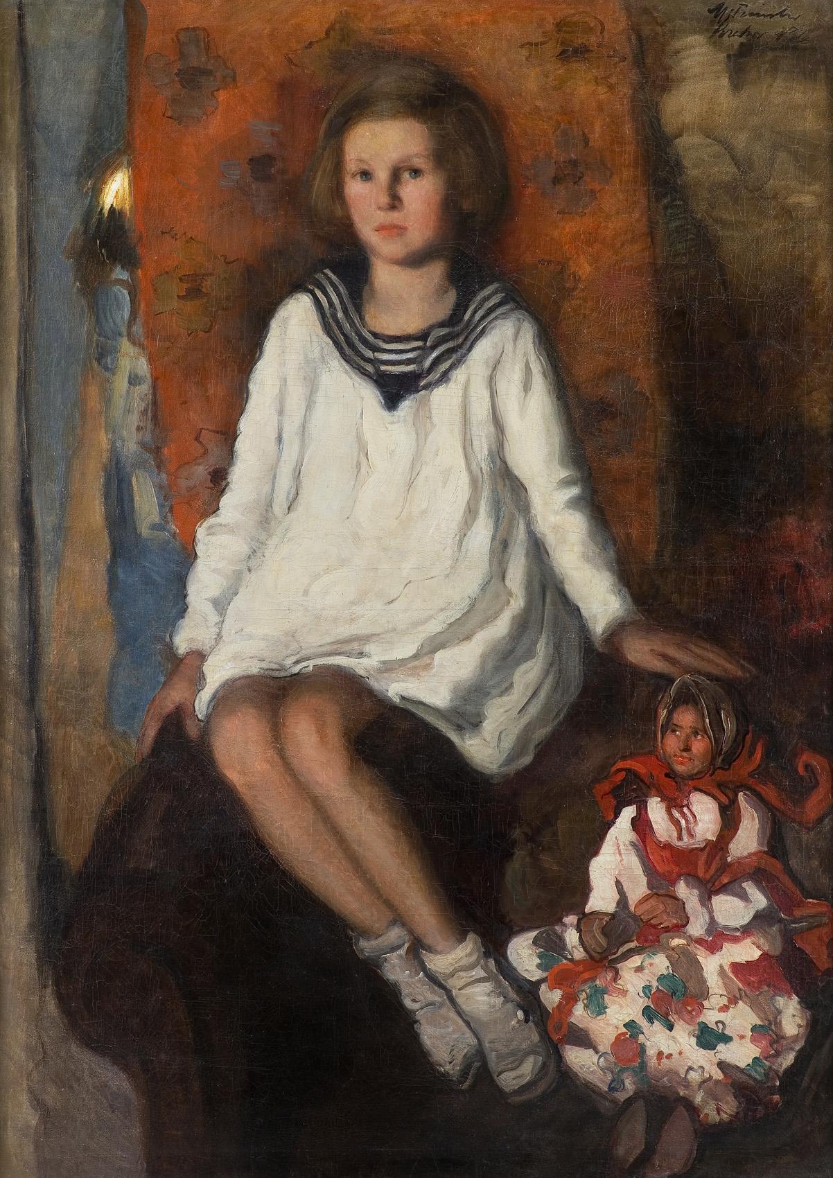 DZIEWCZYNKA Z LALKĄ, 1936