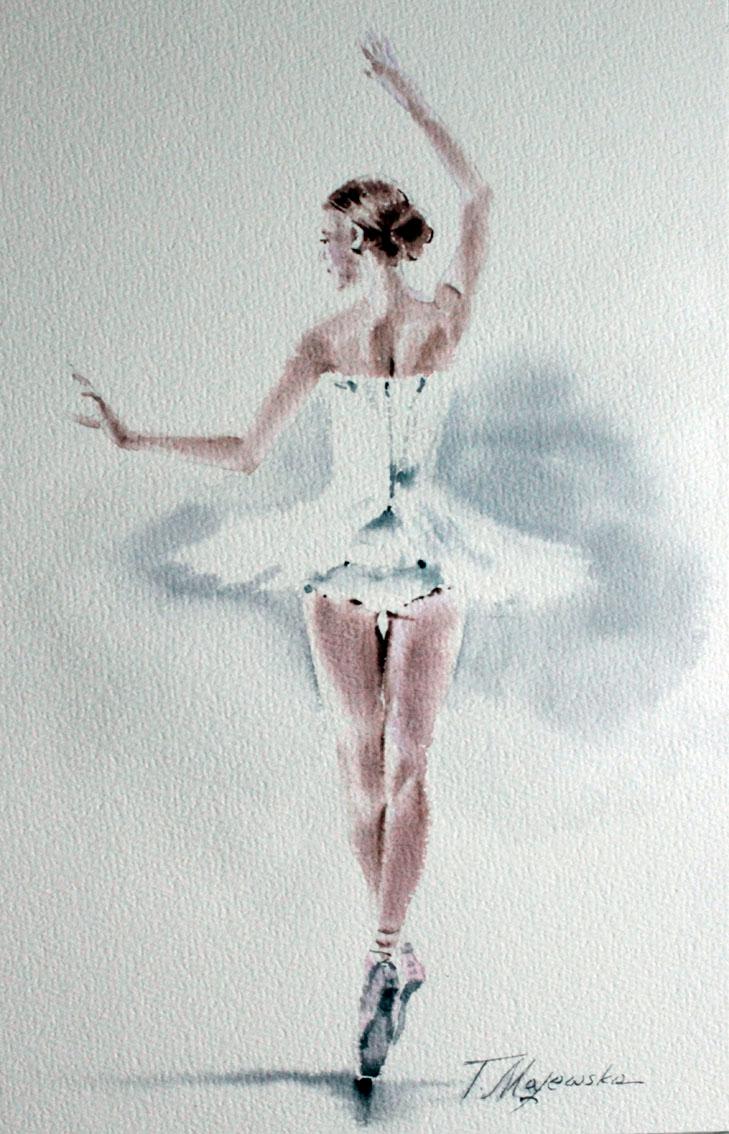 Baletnica, z serii: Uchwycić ruch, 2020